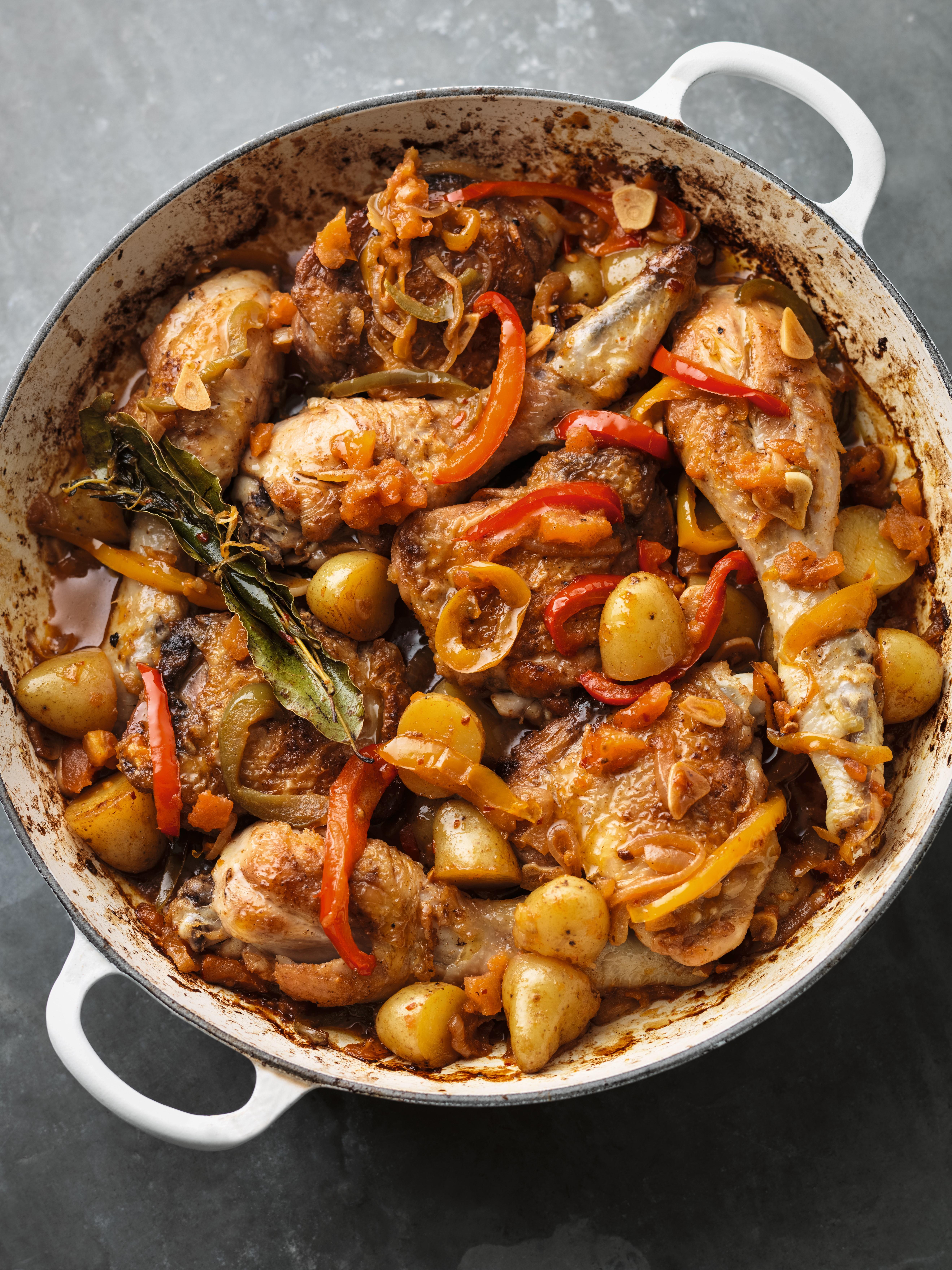 chicken basque style