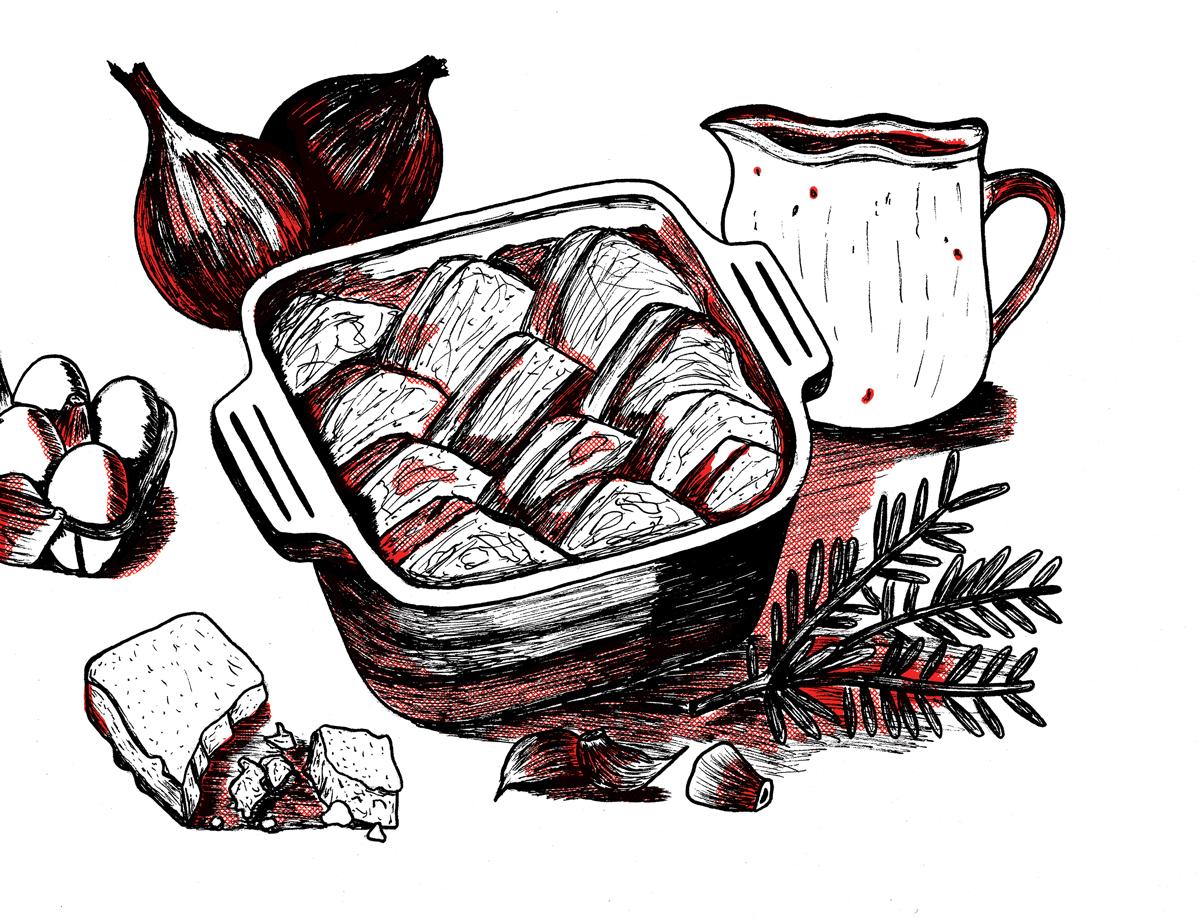 Shepherd's Breakfast from Frankenstein